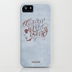 BOB DYLAN, BLOWIN' IN THE WIND Slim Case iPhone (5, 5s)