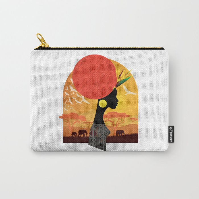The Cradle of Civilization Carry-All Pouch