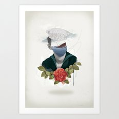 Broken Hearts Art Print