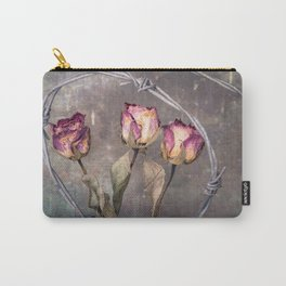 Trapped Roses Carry-All Pouch