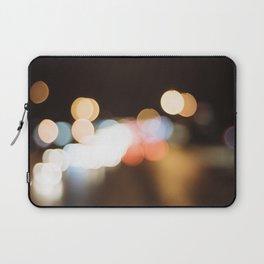 Street Light Bokeh Laptop Sleeve