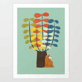 Shady Tree Art Print