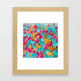 Gummi pigs Framed Art Print