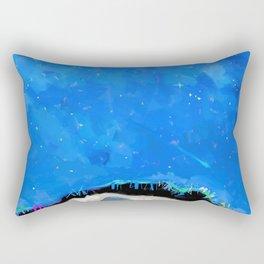 Snow Drifter Rectangular Pillow