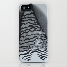 Just Over There (Shipwreck) iPhone Case