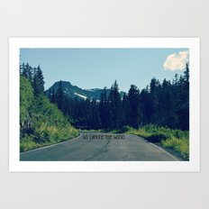 Go Explore the World Art Print