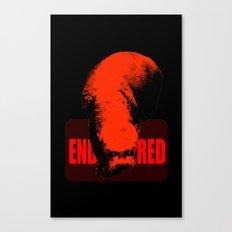 Endangered Giant Otter Canvas Print