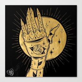 GOLDEN KNIGHT Canvas Print