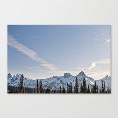 Mountain Ridge in the Sun Canvas Print