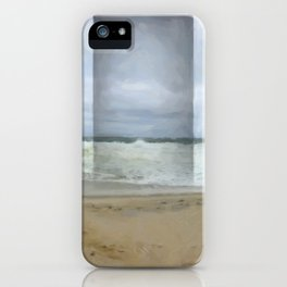 The Seaward Door (Panorama) iPhone Case
