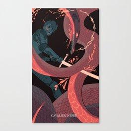 Knight of Swords Canvas Print