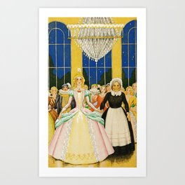 Real Princess By Rudolf Koivu Art Print