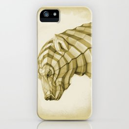 White Bear iPhone Case