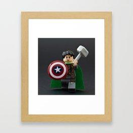 Loki, God of Mischief Framed Art Print