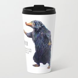 Niffler art Fantastic Beasts Travel Mug