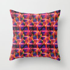 Abstract blocks pattern 2 Throw Pillow
