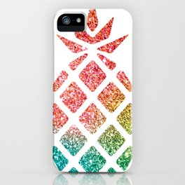Colorful Pineapples Rainbow iPhone Case
