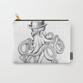Gentlemanly octopus Carry-All Pouch