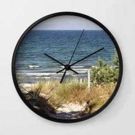 Sanddune - Isle Ruegen Wall Clock