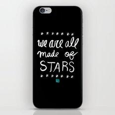 Made of Stars iPhone & iPod Skin