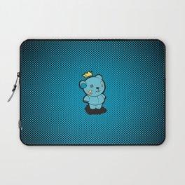 Blue Dead Bear Laptop Sleeve