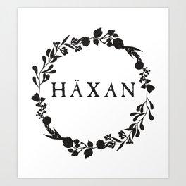 Häxan Art Print