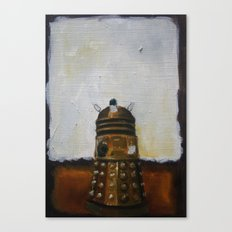 Dalek and a Rothko Canvas Print
