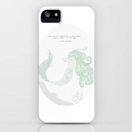 Saltwater Siren iPhone Case