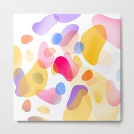 Pattern, wallpaper, forme e colore Metal Print