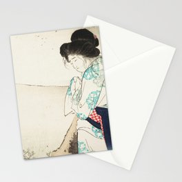 The Mad Woman of Yawata Stationery Cards