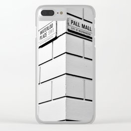 Waterloo/Pall Mall Clear iPhone Case