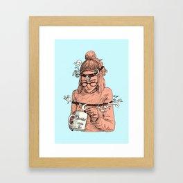 Dividida Framed Art Print