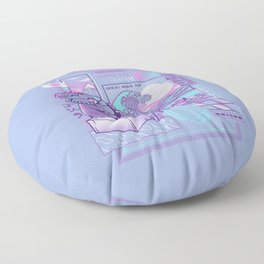 Japan wave Floor Pillow