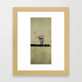 PINK_HERO_SERIES_1 Framed Art Print