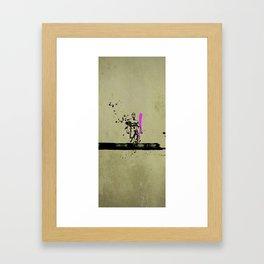 PINK_HERO_SERIES_1 Framed Art Print