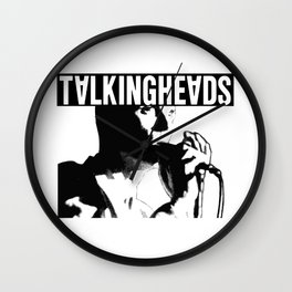 Elio Talkingheads Wall Clock