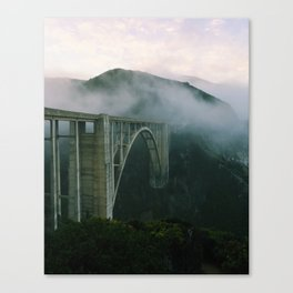 Bixby Bridge, Big Sur, California Canvas Print