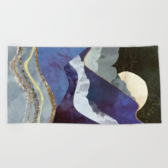 Midnight Beach Towel