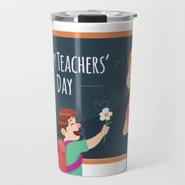 Happy Teachers Day To Our Favorite Miss Travel Mug
