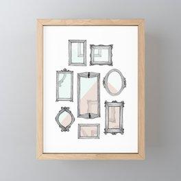 Vacant Framed Mini Art Print