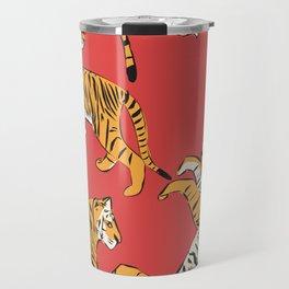 Tiger Pattern 005 Travel Mug