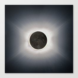 Total Eclipse by  OLena Art Canvas Print