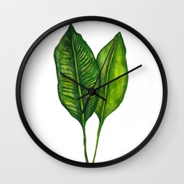 Tropical Collection part 1 Wall Clock