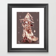 Maya the Spellcrafter Framed Art Print
