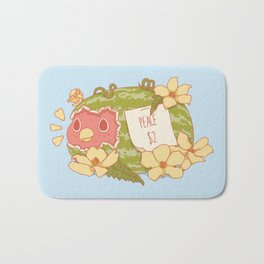Let's Be Nice Bath Mat