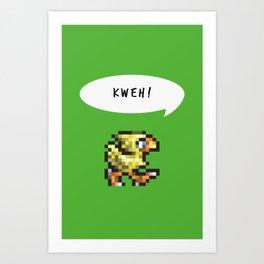 Kweh! Art Print