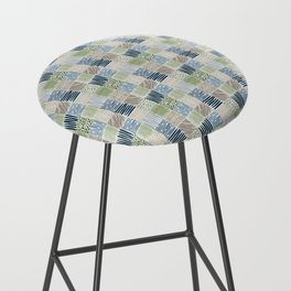 Jungle Set | hand illustrated quilt pattern Bar Stool