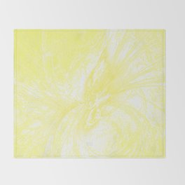 Splatter in Lemonade Throw Blanket