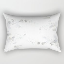 marble like abstract painting Rectangular Pillow