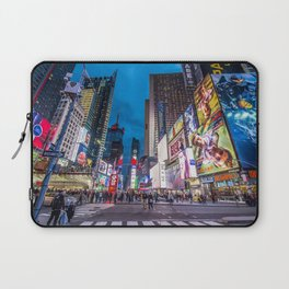 Time Square NYC Laptop Sleeve